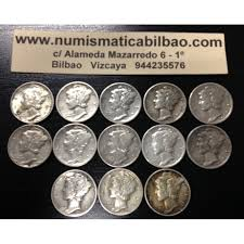 arras de boda arras de matrimonio estados unidos 10 centavos 1939 a 1943