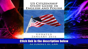 favorite book us citizenship study guide in english and polish