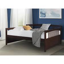 Morgan Convertible Crib by Dorel Living Morgan Full Daybed Espresso Walmart Com