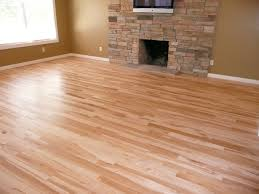 decoration hardwood floor with bright natural wood color floor