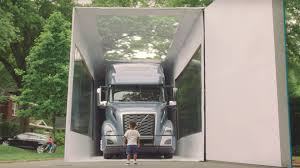 brand new volvo truck for sale watch a 3 year old unbox the 80 foot long all new volvo vnl truck