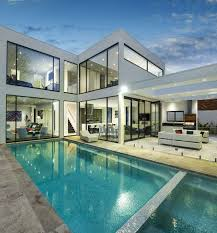 big house design contemporary house architecture with a cool pool big windows and