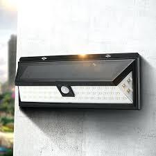 solar outdoor house lights exterior solar lights solar power motion sensor led solar light