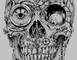 steampunk skulls skull designs skull