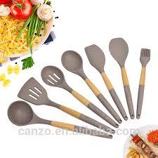 ustensile de cuisine en silicone grossiste set 5 ustensile silicone acheter les meilleurs set 5