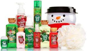 bath u0026 body works holiday traditions bucket 10 items for 25