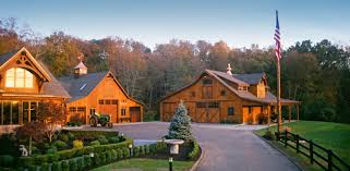 House And Barn by Timber Frame Home Southbury Ct Timber Frame Homes Projects