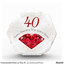 40 year anniversary gift ideas 36 best 40th anniversary gifts personalized images on