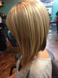 front and back views of chopped hair long stacked bob hairstyle front and back view linehaircut long