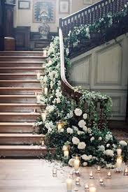 Banisters Flowers Best 25 Wedding Staircase Decoration Ideas On Pinterest Wedding