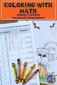 Halloween Math Crafts by Best 20 Adding Fractions Ideas On Pinterest Adding And