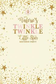 twinkle twinkle birthday custom 1st birthday backdrop twinkle twinkle background