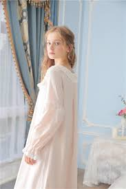 princessy heart 100 cotton lace quality royal vintage night gown