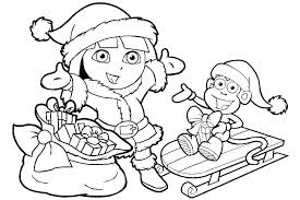 dora coloring pages for toddlers free dora coloring pages free coloring pages kid the explorer man