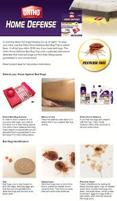 How To Get Rid Of Bed Bugs At Home Ortho Home Defense Bed Bug Trap 2 Pack 0465510 The Home Depot
