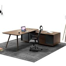 modern executive desk set enchanting contemporary executive office desks with 4pc l shape