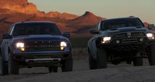 Ford Raptor Truck Jump - ram runner vs ford raptor who u0027s the victor ford trucks com