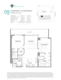 33 bay street floor plans rise at brickell city centre