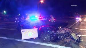 california red light law chp officer hurt in red lights and siren crash mynewsla com