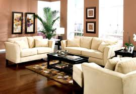 Art Van Living Room Furniture by White Fabric Sofa Living Room Decorating Ideas On A Budget Striped