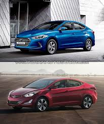 hyundai elantra model 2016 hyundai elantra vs current model vs