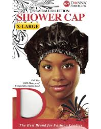 shower cap x large 11028 balck