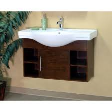 41 Bathroom Vanity Bellaterra Home Langdon 41 Single Wall Mounted Bathroom Vanity