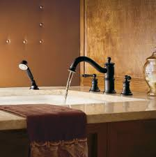 moen ts213nl nickel deck mounted roman tub faucet trim with