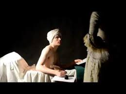 French Revolution Painting Bathtub Excerpt The Death Of Jean Paul Marat French Revolution Youtube