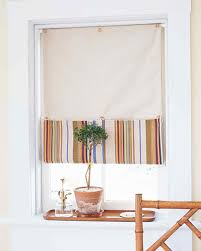 Chesapeake Tie Up Shade by No Sew Tie Up Shades You Buttonup Window Shade Diy No Sew