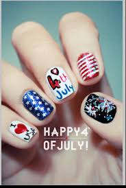 cute easy 4th of july nail designs easy way nail art with you