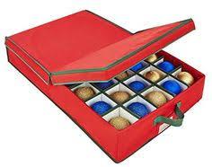 christmas ornament storage box home clad christmas ornament storage box and organizer with 4
