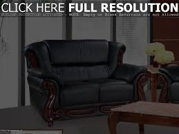 Black Living Room Furniture Sets Beige Leather Comfy Sofa With Unique Black Leather Living Room