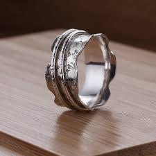 spinner ring dainty dandelion spinner ring by joanne tinley jewellery
