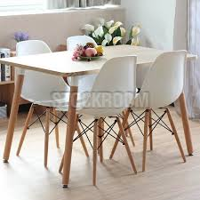 eames inspired dining table eames dsw style rectangular dining table dta506 hk 1 979 00