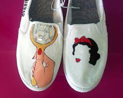 Decorate Shoes Canvas Shoes Etsy