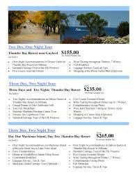 Michigan travel talk images Sample itineraries thunder bay tours jpg