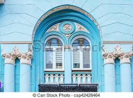 fassade architektur stockbild pfeiler historisch architektur fassade bogen