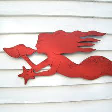 mermaid wall decor mermaid wall coastal decor mermaid