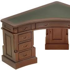bureau style colonial bureau d angle victorien anglais en acajou walden meuble de style
