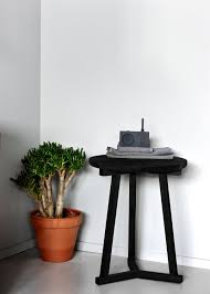 Tripod Side Table Oak Tripod Side Table Side Tables From Ethnicraft Architonic
