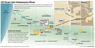 Howell Michigan Map by Michigan Oil Spill Links Pipeline Accident Fills Kalamazoo River