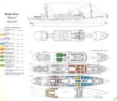 ship floor plans oceania marina cruise ship deck plan deckplans floor plans images
