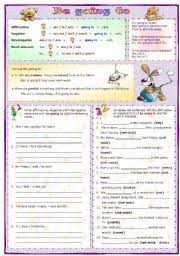 english worksheet be going to my teaching helpers pinterest