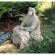 garden statues religious christian catholic sculptures design