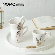 Decorating Porcelain Mugs Nordic Tea Coffee Font B Mugs B Font Ceramic Creative Beast Milk Font B Mug B Jpg