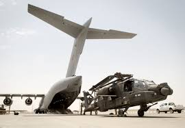 file ah47 apache helicopter being transported from afghanistan