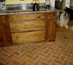 Brick Floor Kitchen by Brick Floors In Kitchen U2013 Thelakehouseva Com