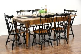 sold country pine u0026 maple 1890 antique farmhouse harvest dining