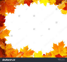 Backdrop Frame Autumn Backdrop Frame Composed Colorful Autumn Stock Photo